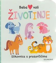 Beba voli životinje