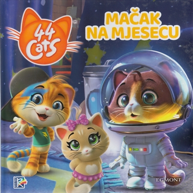 44 cats _Mačak na mjesecu