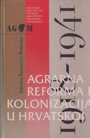 Agrarna reforma i kolonizacija u Hrvatskoj